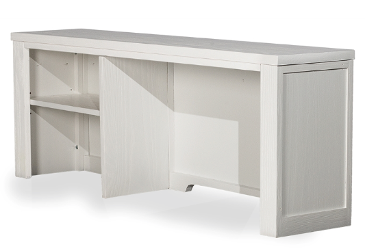 Hillsdale Highlands Desk Hutch, White