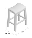 "Darby Home Co Henninger 27"" Bar Stool Upholstery"