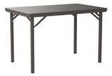 Zown Heavy Duty Commercial Rectangular Folding Table
