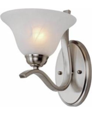Charlton Broadnax 1-Light Wall Sconce (Brushed Nickel)