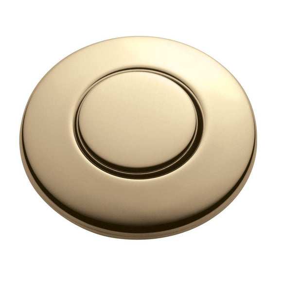 InSinkErator SinkTop Switch Push Button in French Gold