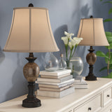 "Charlton Home Vannessa 25"" Table Lamp -Set of 2"