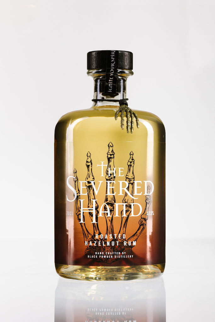 Roasted Hazelnut Rum 37.5%ABV 70cl