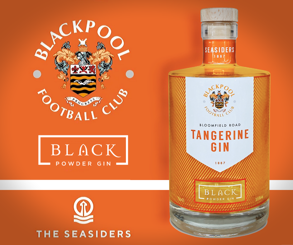 Blackpool Football Club Tangerine Gin