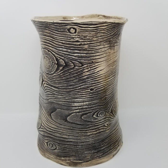 JRN- Large Woodgrain Vessel