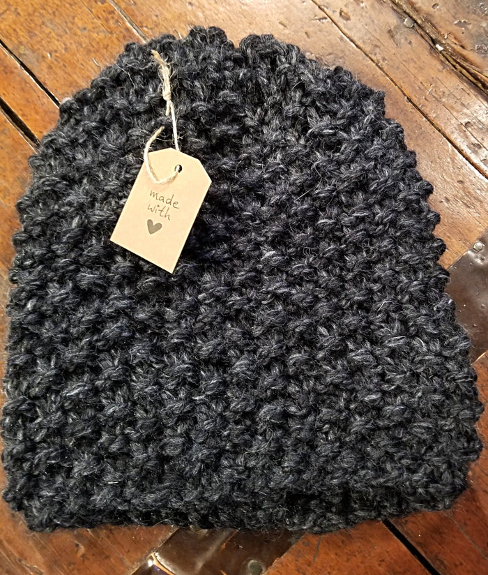 Michelle Mooney's Pebbled Slouch Hat