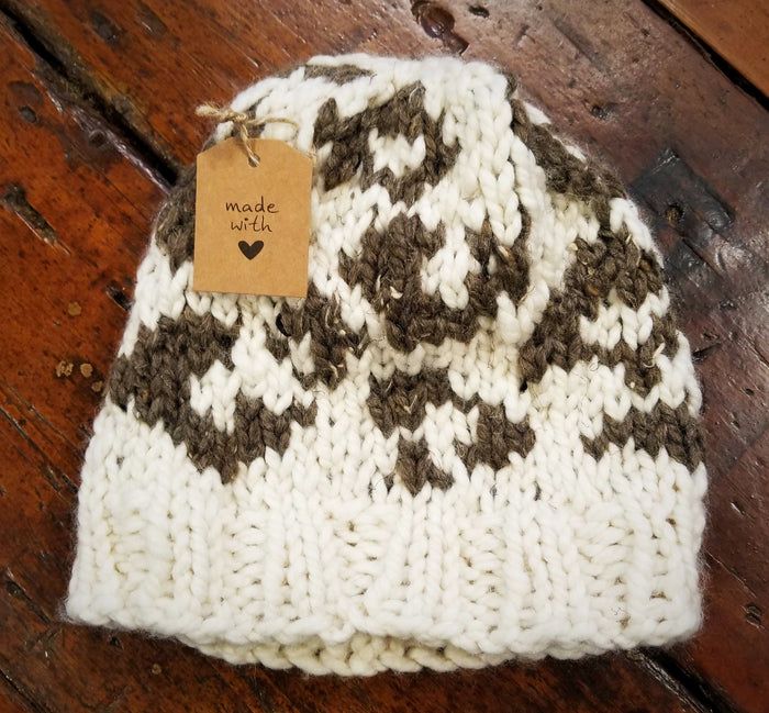 Michelle Mooney's Leopard Hat