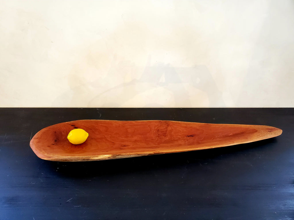 Bart Tenore- Long Cherrywood Table Tray #130