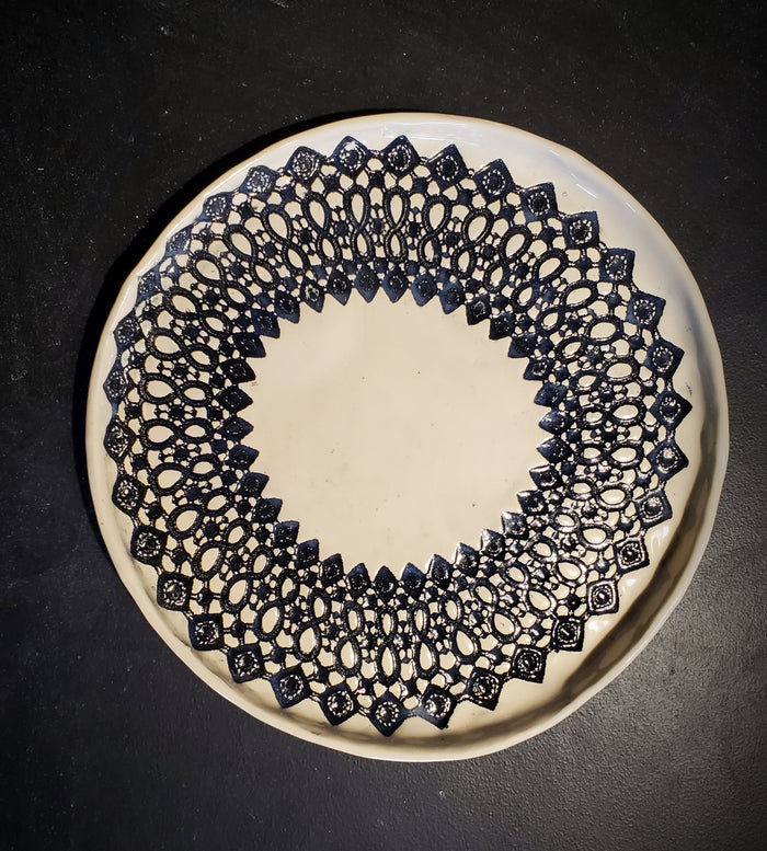 JRN - Infinity Lace Platter