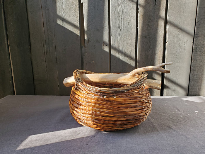 Jesica Clark - Willow Weaver Field Basket With Handle