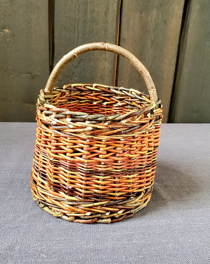 Jesica Clark - Willow Weaver Foraging Basket