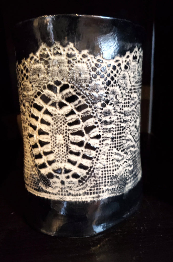 JRN - Wedding Lace Vase