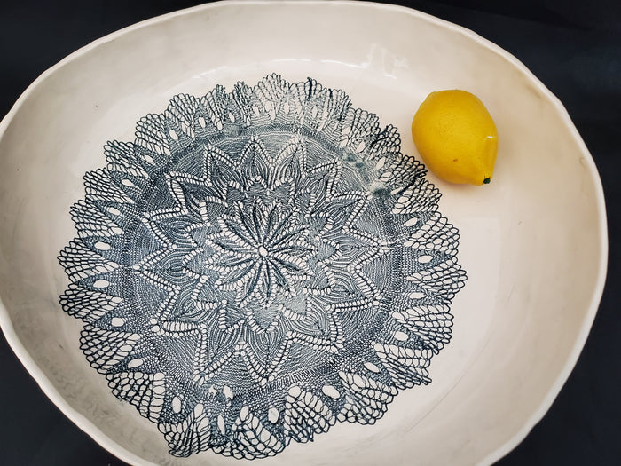 JRN - Pulsing Star Fine Lace Oversized Bowl