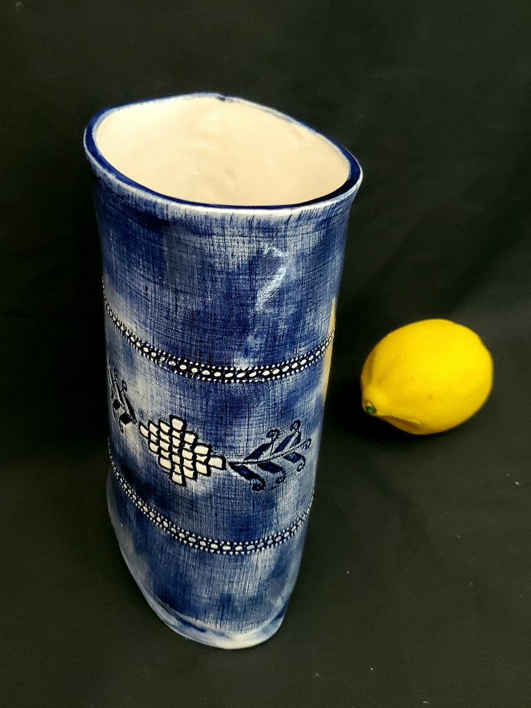 JRN - Faded Denim Bowen Lace Vessel