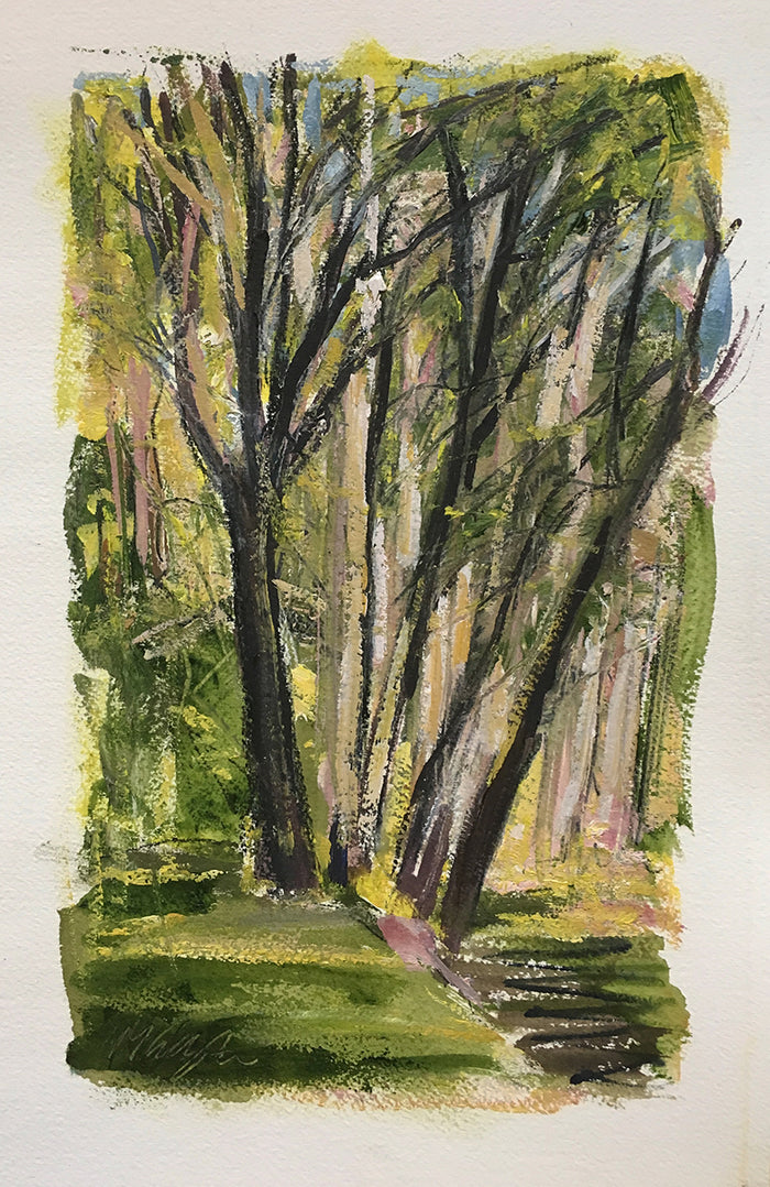 Michael Gallagher #44: Trees, Clinton Corners, 5:00 pm, May 11th, 2019