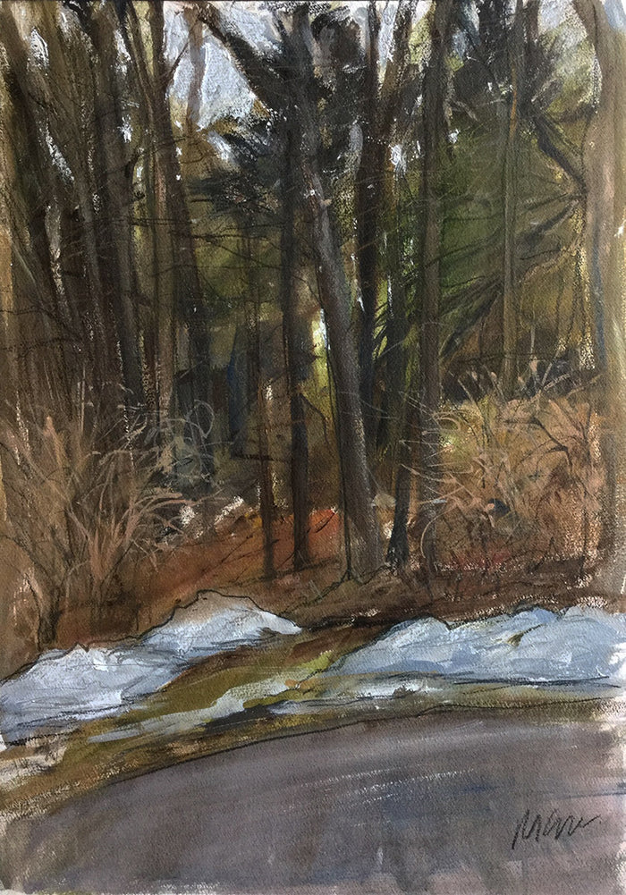 Michael Gallagher #P28: Trees, Clinton Corners, February 10th 2019