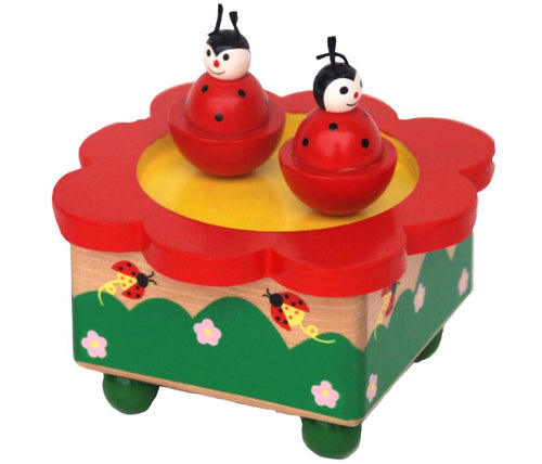 Wooden Lady Bird Music Toy