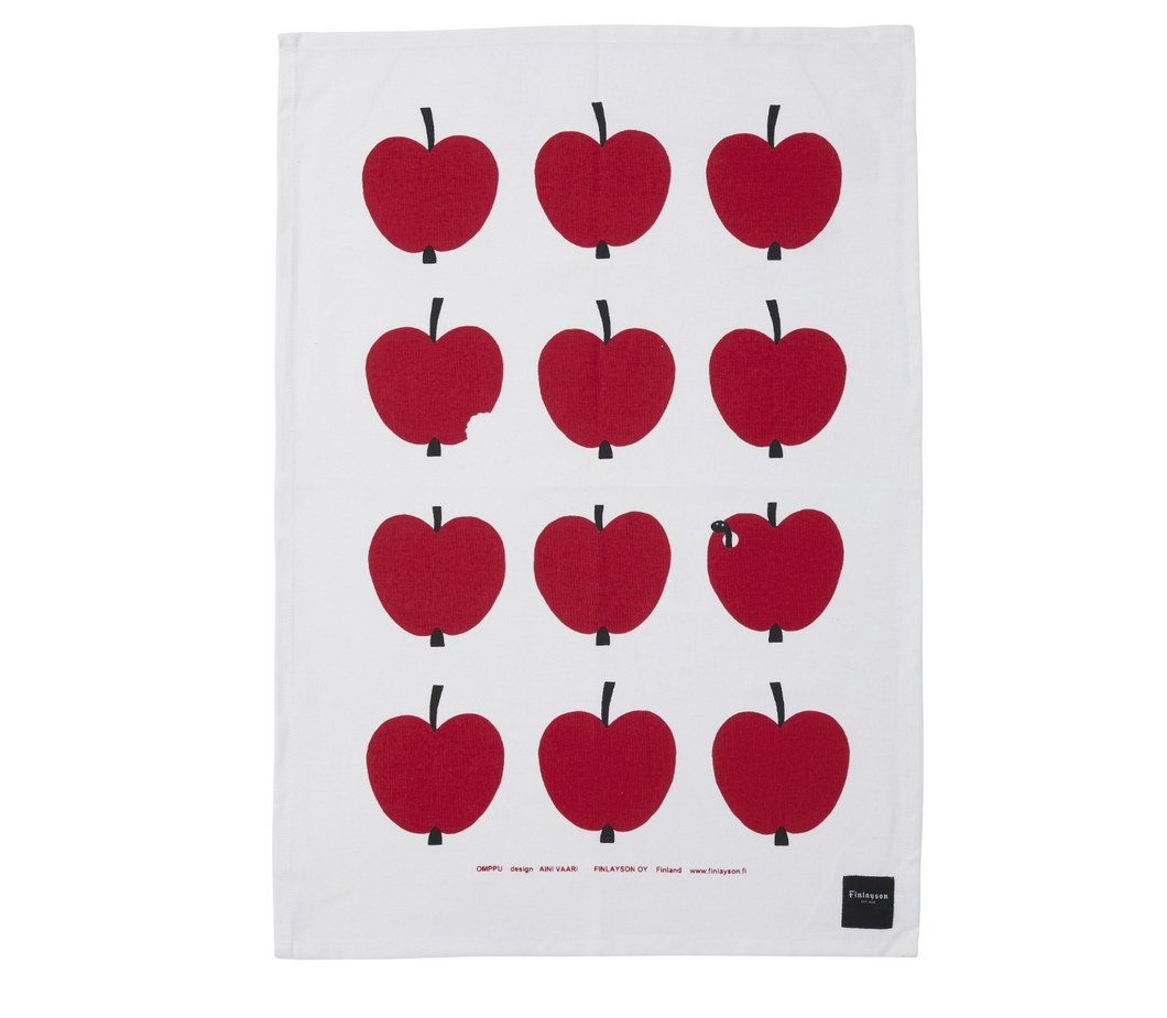Omppu Apple Tea Towel