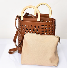 Diamond Cut Out Tote