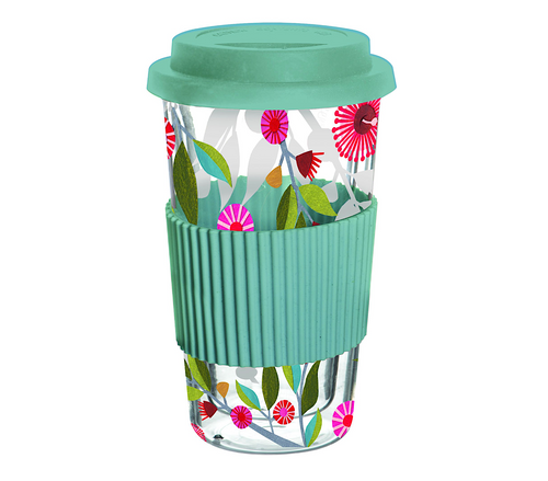 Gum Blossom Double Wall Travel Mug