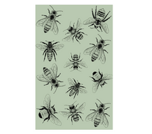 Sketch Bee Tea Towel