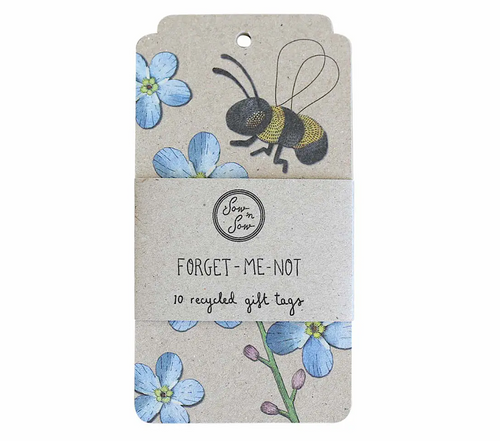 10pk Forget-Me-Knot Gift Tags