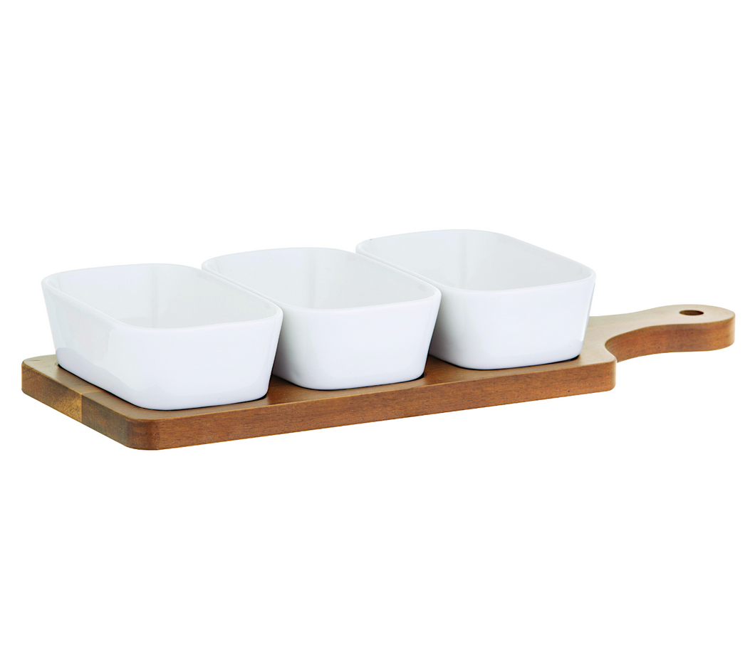 Loft Dish Set/3 on Paddle