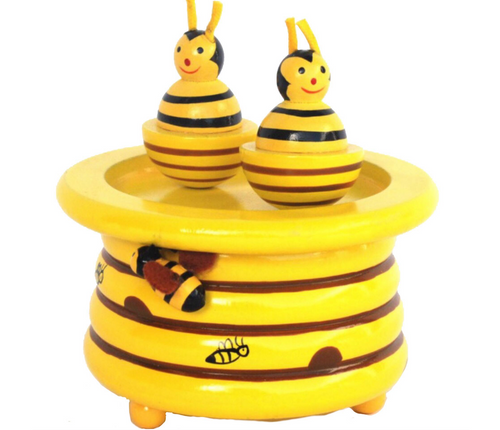 Wooden Bee Music Toy