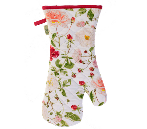 Royal Horticultural Society Rose Oven Mitt