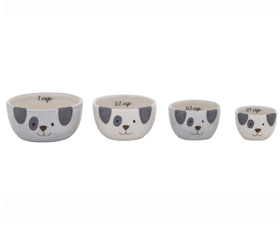 Spotty Dog Measuring Cups