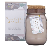 Spectra Siam Wood & Vanilla Candle