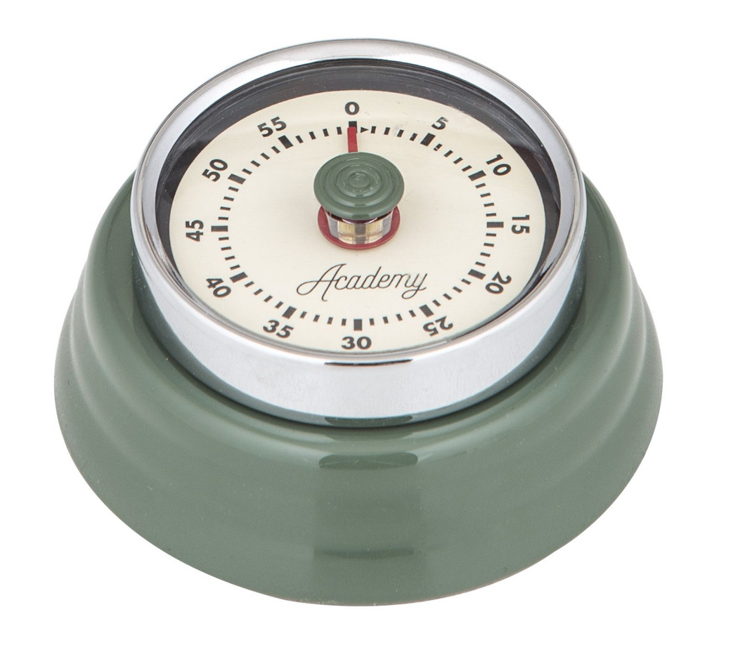 Green Bronte Mechanical Timer