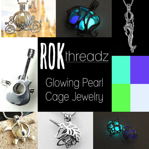 Glowing Pearl Cage Jewelry