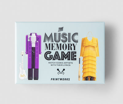 Memory Game - Music - Gifted Products