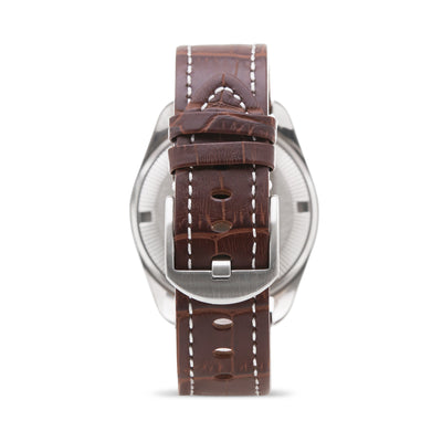 ATOP WORLD TIME WATCH CLASSIC LEATHER SERIES WWS-2A - Gifted Products