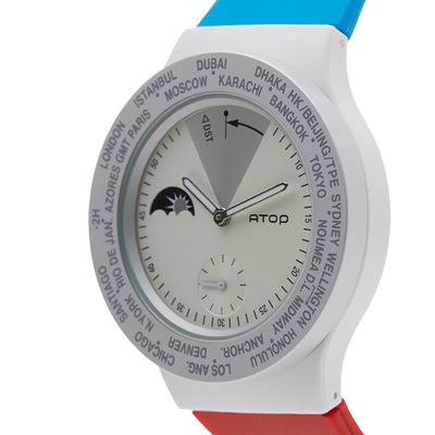 ATOP WORLD TIME WATCH FRANCE - Gifted Products
