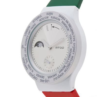 ATOP WORLD TIME WATCH ITALY - Gifted Products