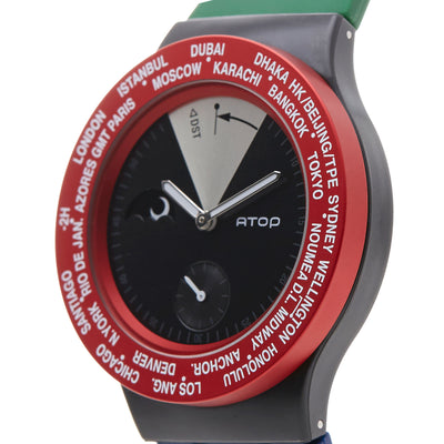 ATOP WORLD TIME WATCH IRELAND - Gifted Products