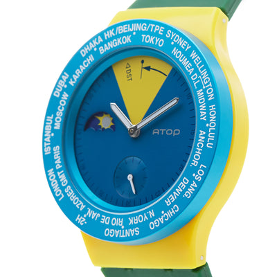 ATOP WORLD TIME WATCH BRAZIL - Gifted Products