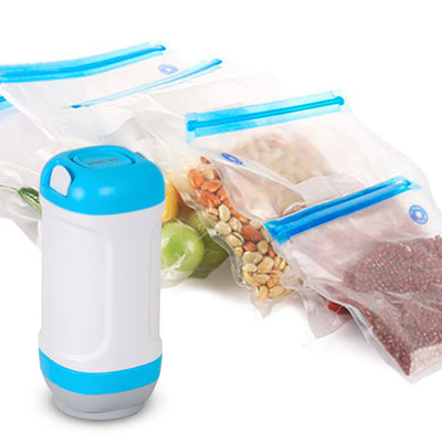 Dr. Save Vacuum Sealer for food with Reusable Food Bags Set - Gifted Products