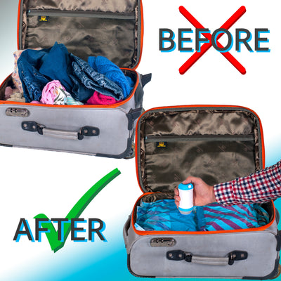 Dr. Save storage bags with vacuum sealer for clothes - Gifted Products