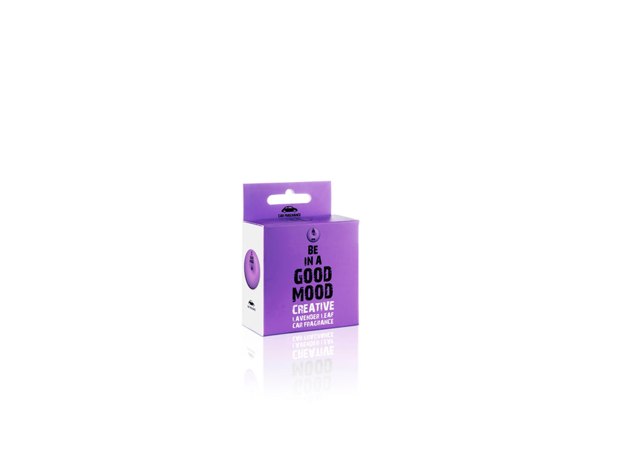 Be In A Good Mood Creative Lavender Leaf Car Fragrance - Gifted Products