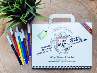FUNNY MAT - MINI TRAVEL SET - Gifted Products