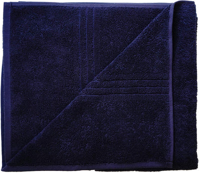 Exclusive 5 Star Hotel Turkish Cotton Navy Towel Set - (2 Bath Towels 4 Hand Towels) - Gifted Products