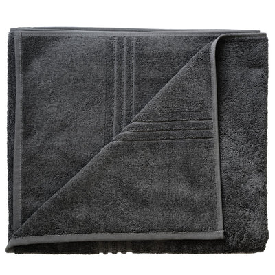 Exclusive 5 Star Hotel Turkish Cotton Grey Towel Set - (2 Bath Towels 4 Hand Towels) - Gifted Products