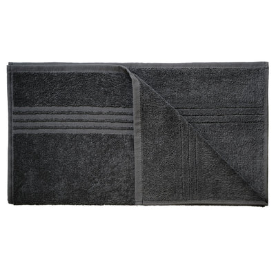 Exclusive 5 Star Hotel Turkish Cotton Grey Towel Set - (2 Bath Towels) - Gifted Products