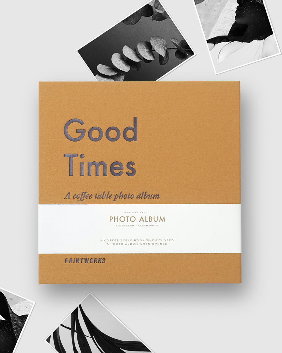 PHOTO ALBUMS-GOOD TIMES - Gifted Products