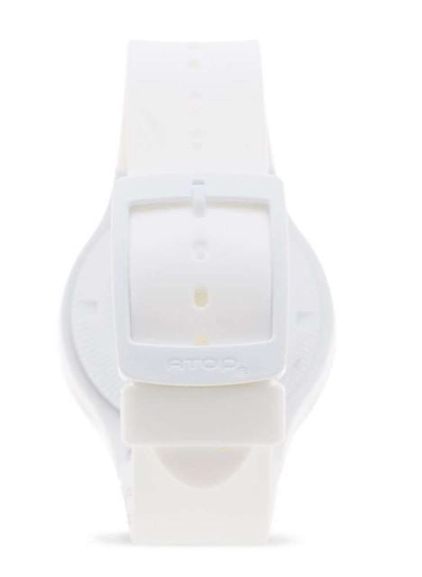 ATOP WORLD TIME WATCH WHITE VWA-10 - Gifted Products