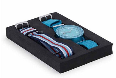 ATOP WORLD TIME WATCH BLUE AWA-14-C0506 - Gifted Products