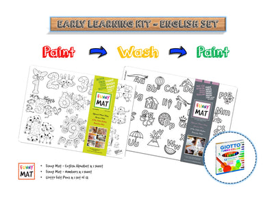 FUNNY MAT - EARLY LEARNING KIT - ENGLISH - Gifted Products